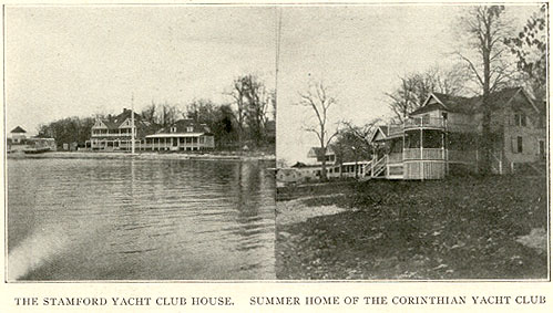 Stamford Yacht Club, summer home of Corinthian Yacht Club