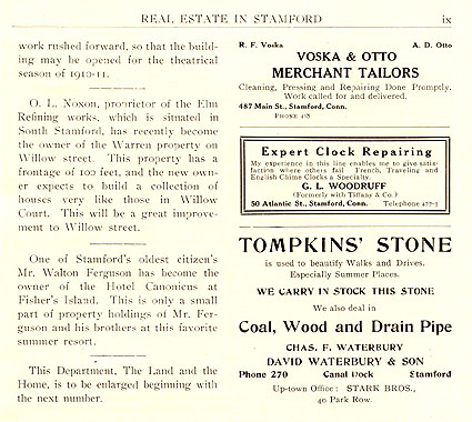 Real Estate Notes, June 1910