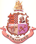 seal of the City of Stamford, click here for history