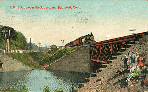 Railroad Brige over the Rippowam