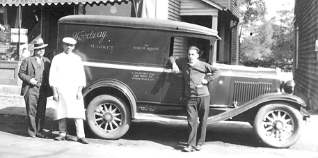 Woodway Market Delivery Wagon