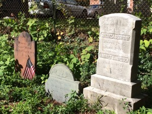 Cemetery Tour Headstones